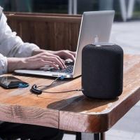 Baseus BA01 USB Wireless Bluetooth 5.0 AUX-Adapterbuchsenkabel schwarz