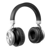 Dudao drahtloses Bluetooth-Headset mit Micro-SD-Kartensteckplatz schwarz (X22 black)