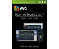 AVG Internet Security 2017 Unlimited (1 Jahr)